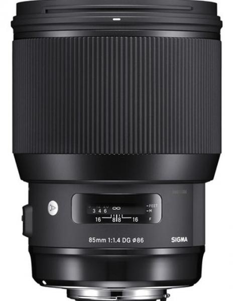 Sigma 85mm Obiectiv Foto DSLR f1.4 DG HSM Art Nikon 3