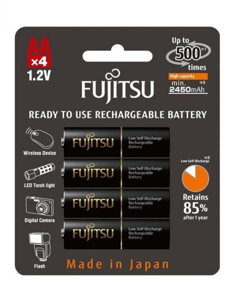 Fujitsu Acumulator Black PRO 4x AA 2450MA [0]