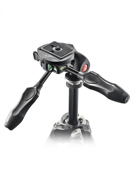 Manfrotto MH293D3-Q2 cap trepied foto 3-Way 0