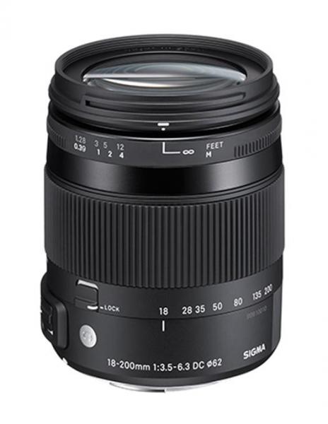 Sigma 18-200mm Obiectiv Foto DSLR f3.5-6.3 DC Macro OS HSM C NIKON 0