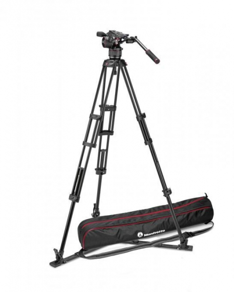 Manfrotto Nitrotech N8 kit trepied video 2