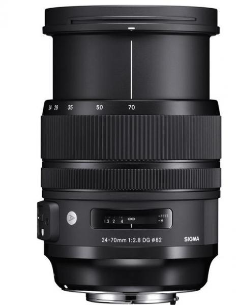 Sigma 24-70mm Obiectiv Foto DSLR f/2.8 OS DG HSM ART CANON 4
