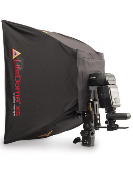 Photoflex dispozitiv prindere blitz si softbox 4