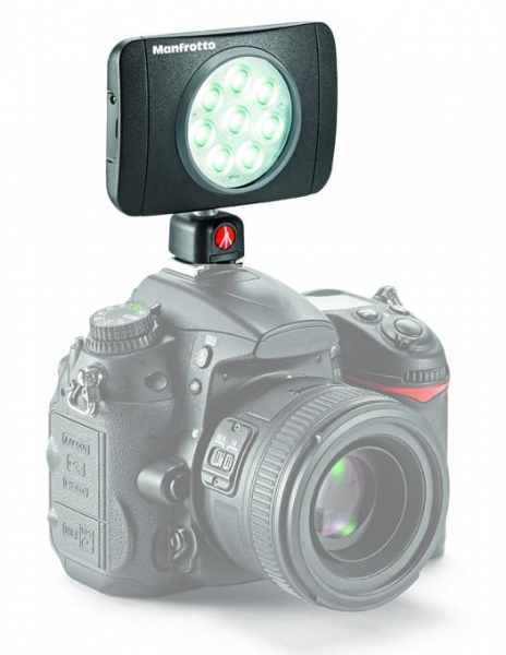 Manfrotto PowerLED Lumimuse 8 1