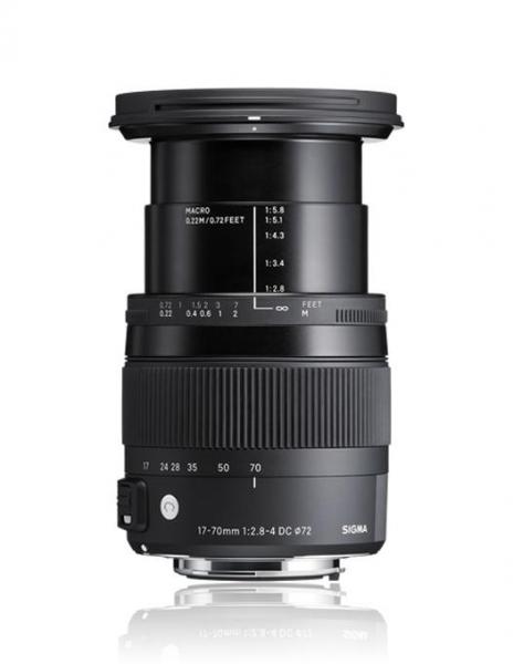 Sigma 17-70mm Obiectiv foto DSLR f2.8-4 DC Macro OS HSM C NIKON 2