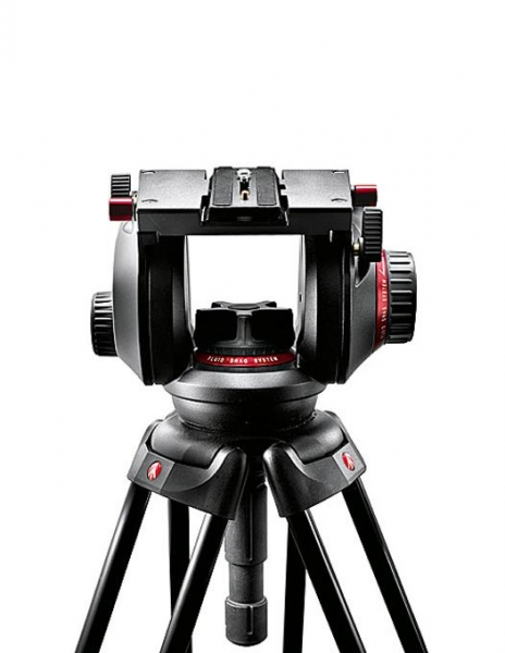 Manfrotto kit trepied video 509HD,536K 1