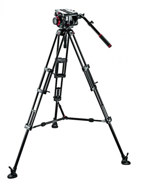 Manfrotto kit trepied video 509HD,545BK [2]