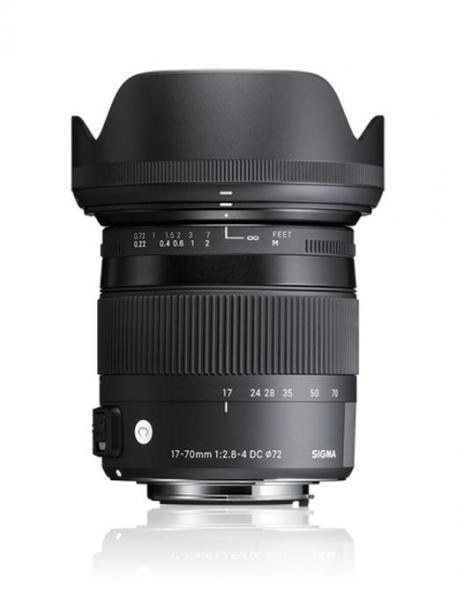 Sigma 17-70mm Obiectiv foto DSLR f2.8-4 DC Macro OS HSM C NIKON 0