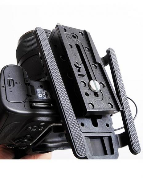 MicRig Stereo maner cu microfon pentru camere video 3