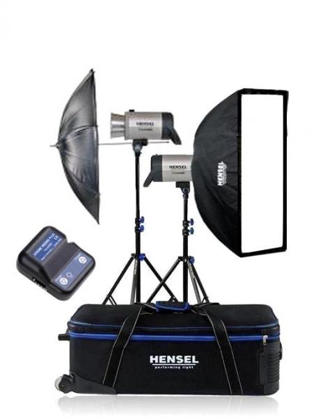 Hensel Integra plus 500Ws FM10 kit blitz-uri 0