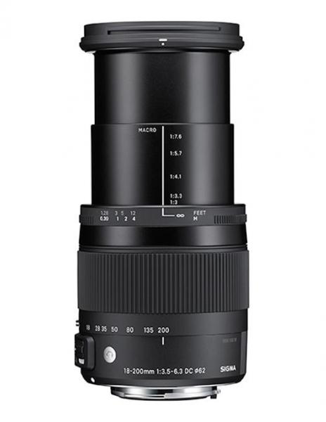 Sigma 18-200mm Obiectiv Foto DSLR f3.5-6.3 DC Macro OS HSM C NIKON 3