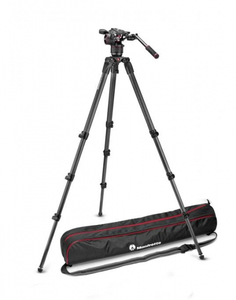 Manfrotto Kit video complet Nitrotech N8 Carbon 2