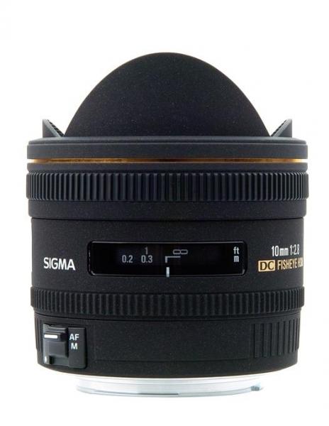 Sigma 10mm f/2.8 EX DC Fisheye-Nikon 0