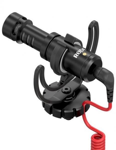Rode Microfon VideoMicro vlogging video extern cardioid micro shotgun ultracompact 0