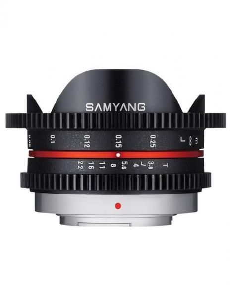 Samyang 7.5mm T3.8 MFT VDSLR 0
