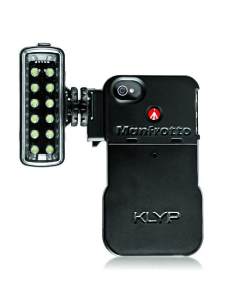 Manfrotto Carcasa iPhone 4/4S cu LED 0