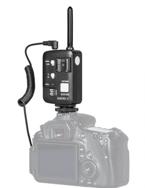 Genesis Rapid Navigator trigger wireless TTL HSS pentru Nikon 2