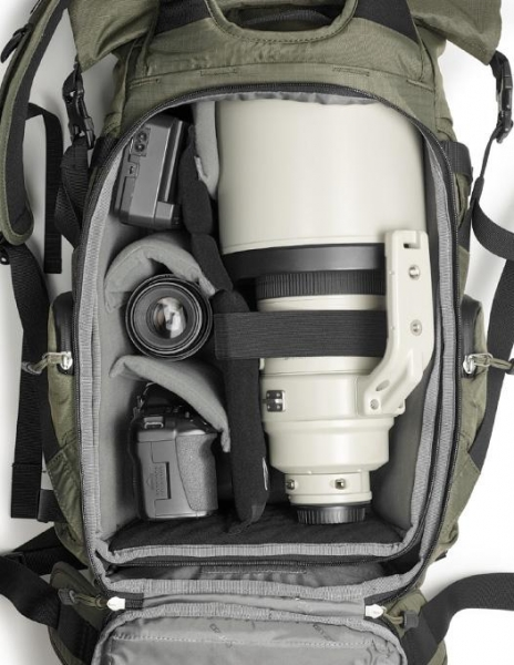 Gitzo Adventury 30L Rucsac pentru DSLR verde kaki 4