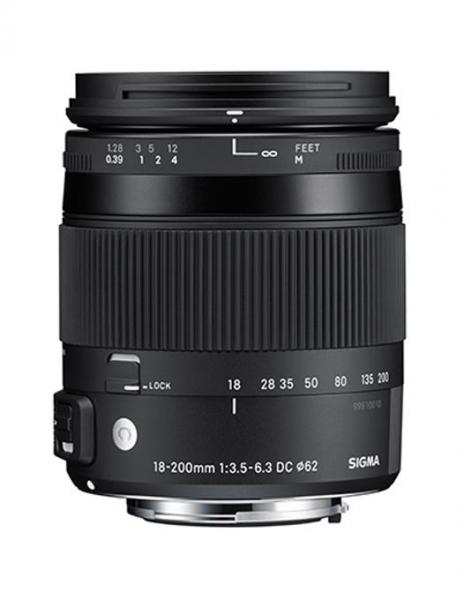 Sigma 18-200mm Obiectiv Foto DSLR f3.5-6.3 DC Macro OS HSM C NIKON 1