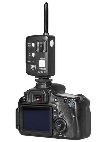Genesis Rapid Navigator trigger wireless TTL HSS pentru Nikon 7