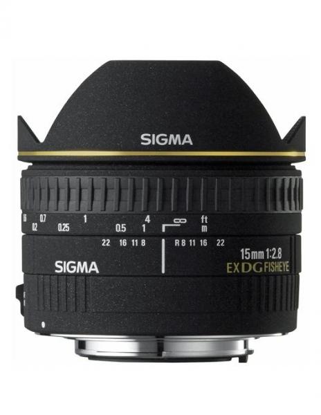 Sigma 15mm F2.8 EX DG Dia. Fisheye-Canon 0