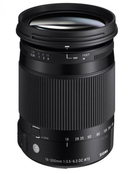 Sigma 18-300mm Obiectiv Foto DSLR f3.5-6.3 DC MACRO OS HSM C NIKON [0]