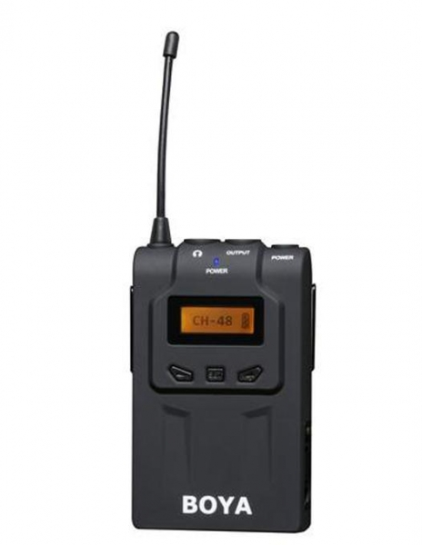 Boya, BY-WM6R, Receiver, Wireless, interviu, eveniment, audio, [0]