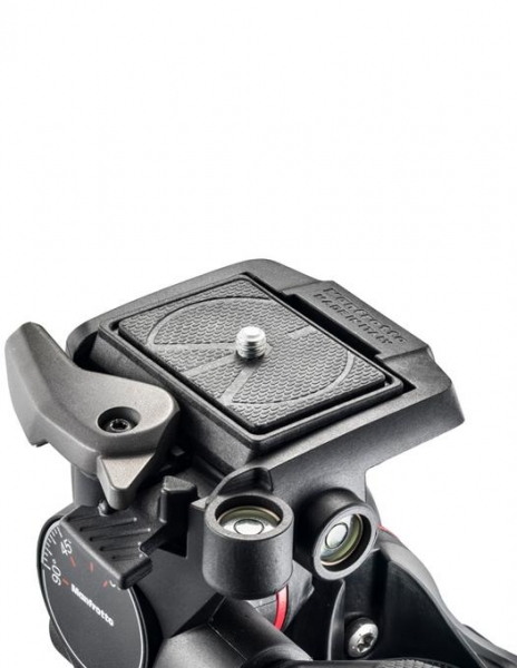 Manfrotto XPRO Cap trepied foto micrometric cu roti dintate 3