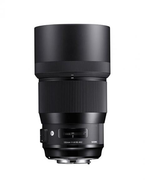 Sigma 135mm Obiectiv Foto DSLR f1.8 DG HSM ART Canon produs expus [0]