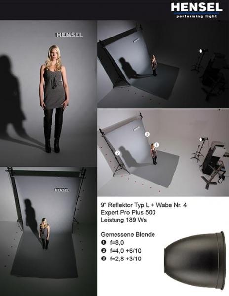 Hensel reflector 23cm 5062 2