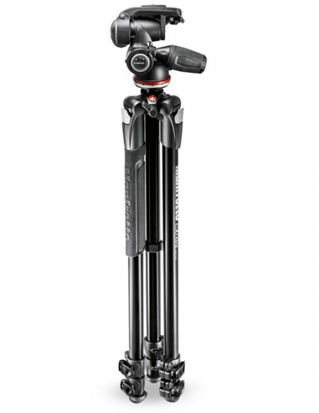 Manfrotto Kit Trepied 290 XTRA cu cap 3Way si husa, Open Box
