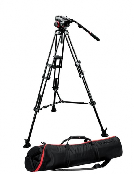 Manfrotto kit trepied video 504HD,546BK 0