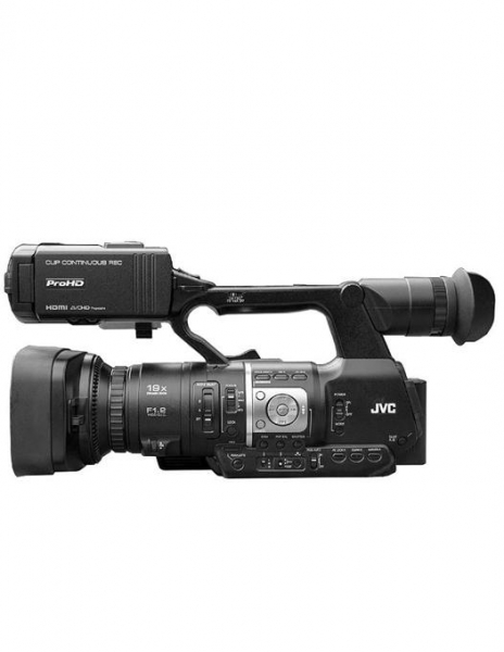 JVC JY-HM360E ProHD Camera video handheld open box 0