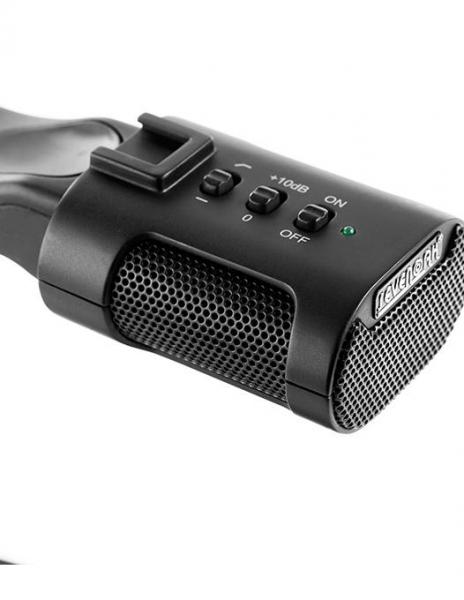 MicRig Stereo maner cu microfon pentru camere video 8