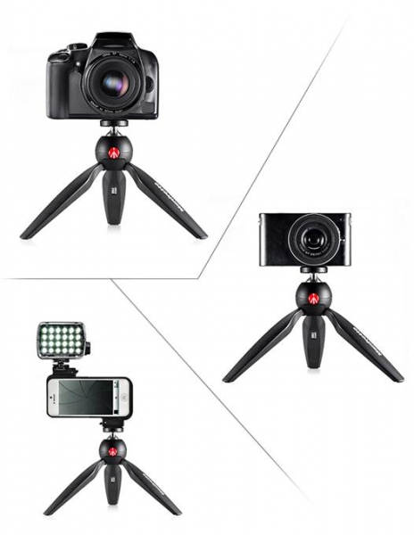 Manfrotto Pixi mini trepied foto Negru 2