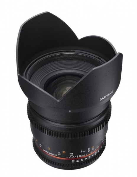 Samyang 16mm T2.2 Nikon VDSLR 2