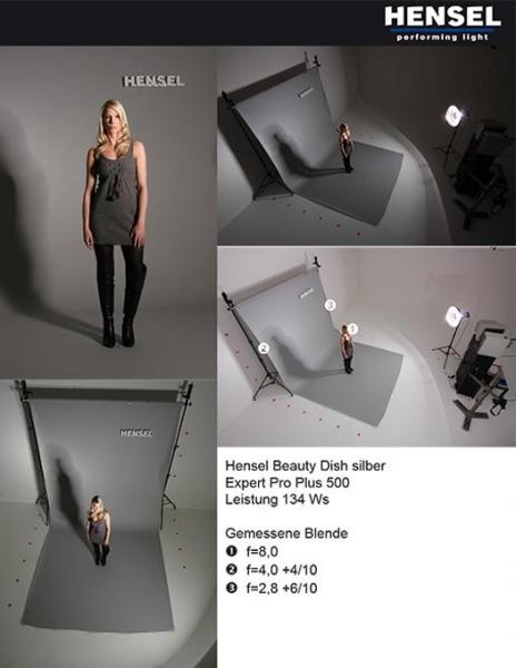 Hensel 8608 beauty reflector argintiu 4