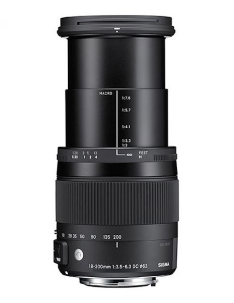 Sigma 18-200mm Obiectiv Foto DSLR f3.5-6.3 DC Macro OS HSM C CANON 3