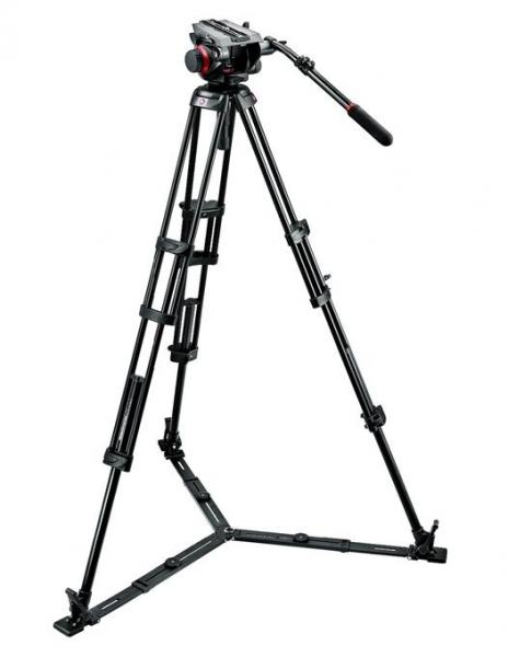 Manfrotto kit trepied video 504HD,546GBK 1