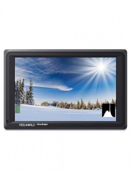 FeelWorld Monitor 7 Inch Ultra Bright 1920x1200 4K SDI/HDMI Input Output 1