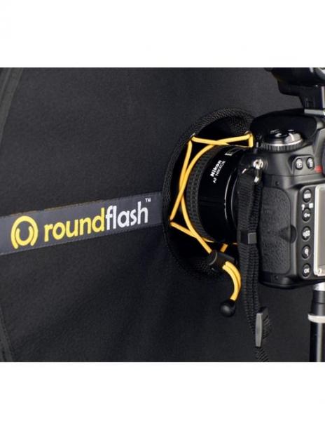 RoundFlash softbox portret 3