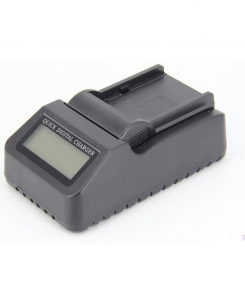 Digital Power Incarcator rapid cu LCD compatibil Sony NP-F970 1