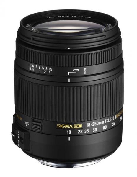 Sigma 18-250mm F3.5-6.3 DC MACRO OS HSM Canon 1
