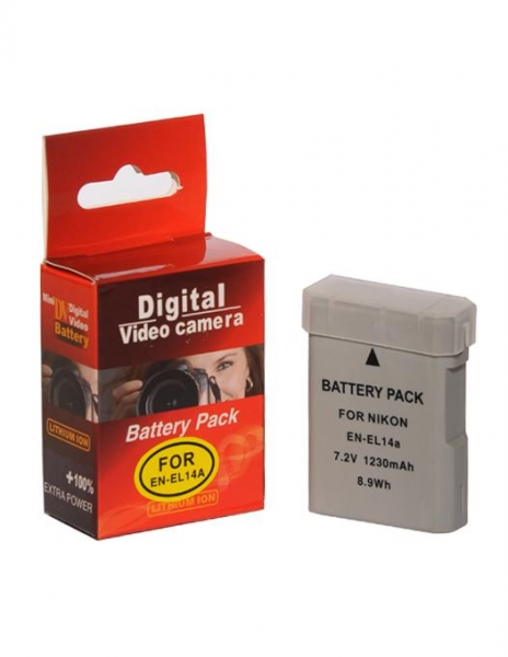 Digital Power EN-EL14A 1230 mAh acumulator pentru Nikon
