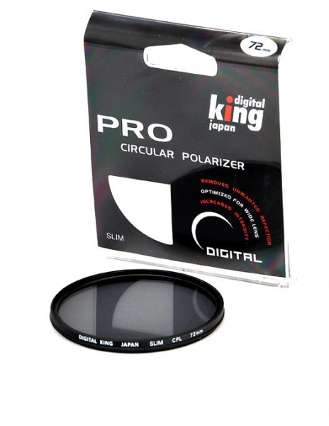 Digital King filtru polarizare circulara Slim 72mm