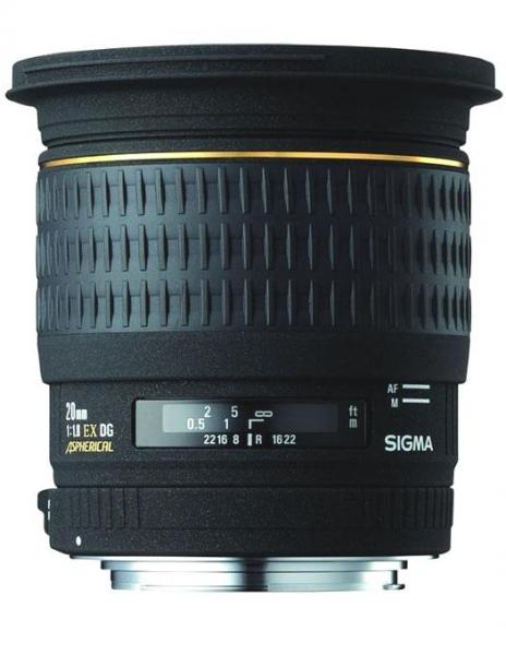 Sigma 20mm Obiectiv foto DSLR f1,8 EX Aspheric DG CANON 0