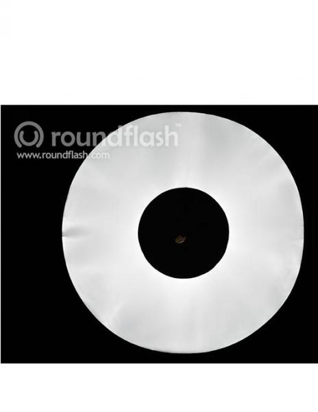 RoundFlash Dish softbox portret 4