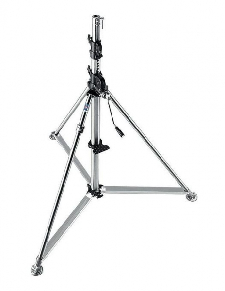 Manfrotto Stainless Steel Super Wind Up Stand 387XU 0