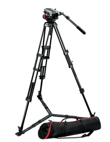 Manfrotto kit trepied video 504HD,546GBK 0
