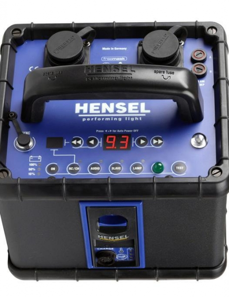Hensel Porty L 600 kit generator 2